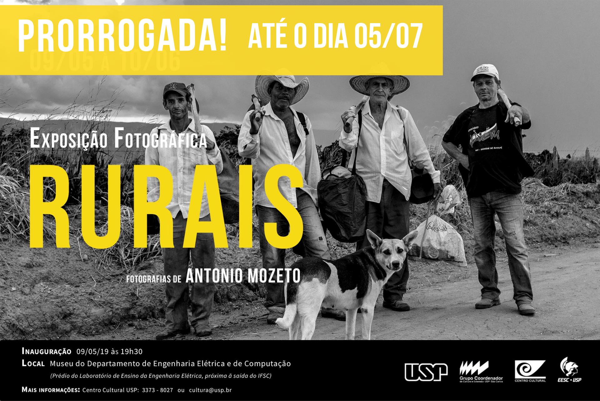"""Exposição Fotográfica """"Rurais"""" – PRORROGADA"""