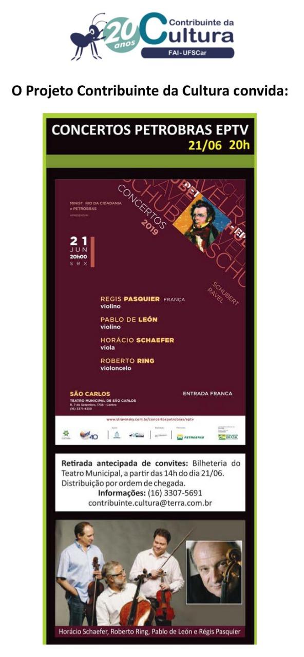 Concertos Petrobras EPTV 2019 – São Carlos
