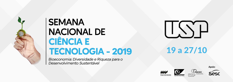Semana USP de Ciência e Tecnologia – SNCT 2019