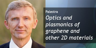 "Palestra no EESC: ""Optics and plasmonics of graphene and other 2D materials"""