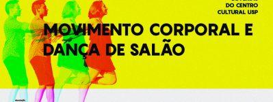 Cursos de Férias 2020 - Prática de movimento corporal e danças de salão