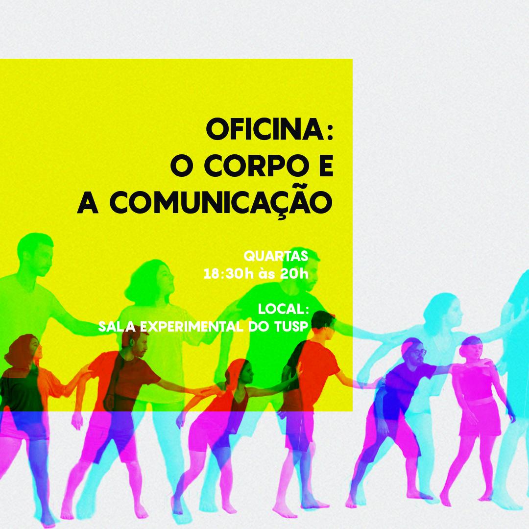 """Cursos de Férias 2020 – Oficina de Dança """"O Corpo e a Comunicação"""""""