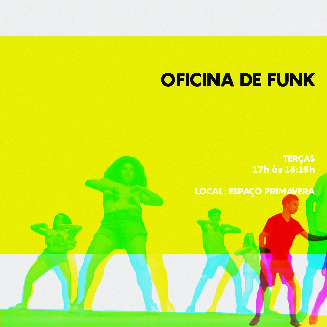Cursos de Férias 2020 – Oficina de Funk