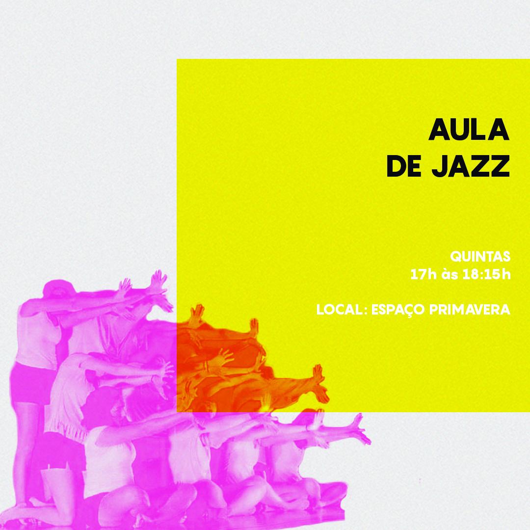 Cursos de Férias 2020 – Aula de Jazz