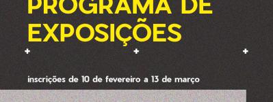EDITAL - Programa de Exposições Públicas do Centro Cultural da USP São Carlos