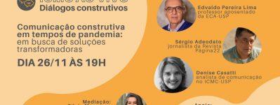 ICMC Ao Vivo: evento online discute comunicação construtiva em tempos de pandemia