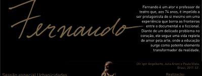 """Comemorações 10+35+50"""" do IAU-USP: Urbanicidades exibe o filme """"Fernando"""""""