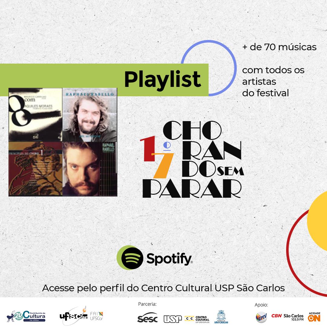 #ChorandoSemParar - Playlists